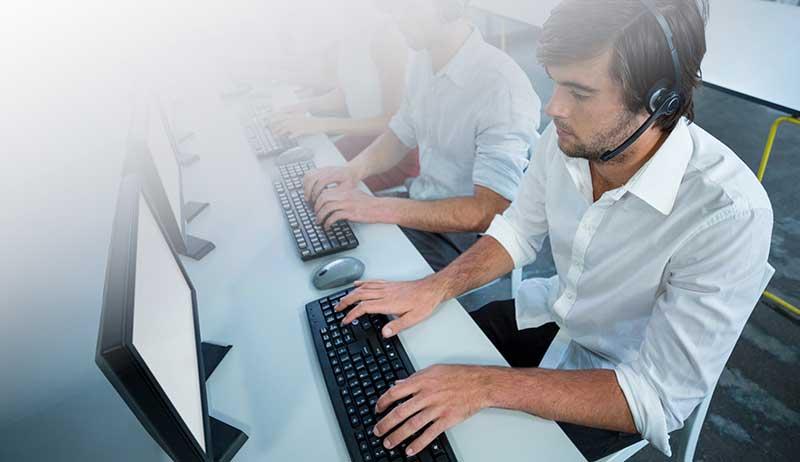 Transcription services in multiple languages