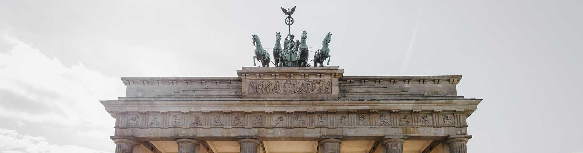 Berlin, Branderburg Gate - German Translations